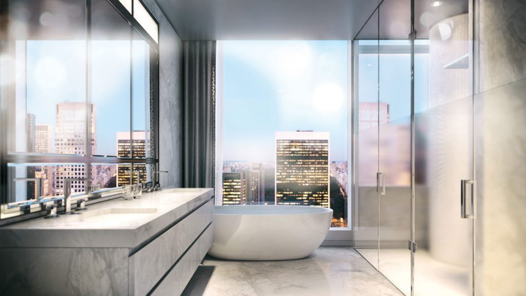 Starwood Capital Group in partnership with Tribeca Associates announced the official start of sales for Baccarat Hotel & Residences New York,  Baccarat Hotel by Gilles & Boissier baccarat hotel new ork room reporter view