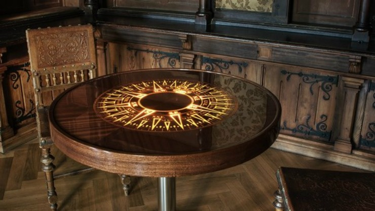 best-interior-designers-pda-index-dubai-WoodVision The Compass Table by Flyvision Trading  Best Product Designers at Index Dubai best interior designers pda index dubai WoodVision The Compass Table by Flyvision Trading