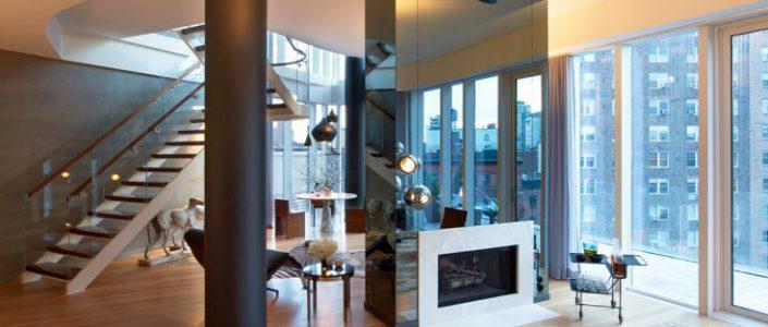 """""""westvillageduplex""""  MR Arquitecture + Decor Interior Art Projects westvillageduplex2 705x300"""