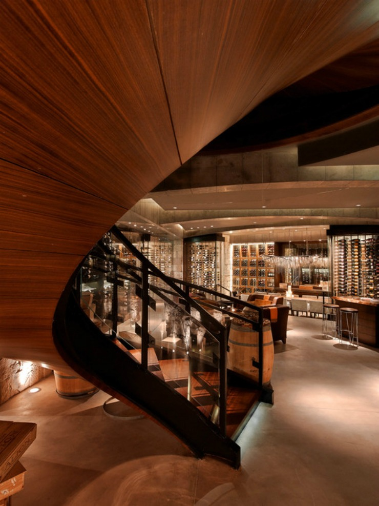 Best Interior Designers Top restaurant designs-HOK - La Cava in United Arab Emirates 2  Best Interior Designers: Top 10 restaurant designs Best Interior Designers Top restaurant designs HOK La Cava in United Arab Emirates 2