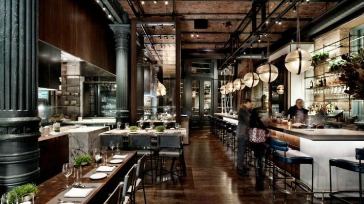 Best interior designers top restaurant designs