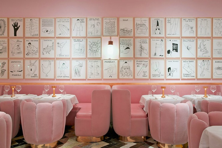 Best Interior Designers Top restaurant designs - gallery at sketch india mahdavi 2  Best Interior Designers: Top 10 restaurant designs Best Interior Designers Top restaurant designs gallery at sketch india mahdavi 2