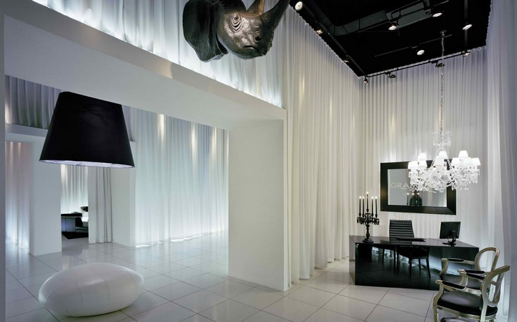 """philippe starck project""  Best Interiors by Philippe Starck Gramercy Starck 14 Condominium"