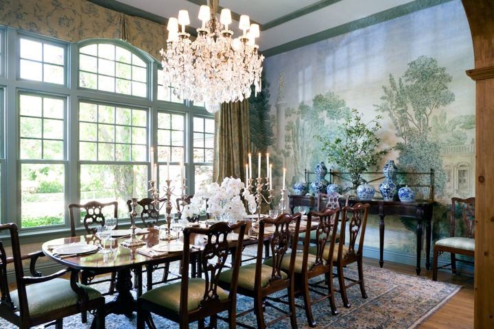 dining rm/Photo by Lee Manning