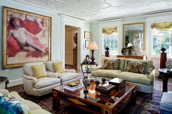 Celebrity news timothy corrigan luxury living rooms for Celebrity interior designers