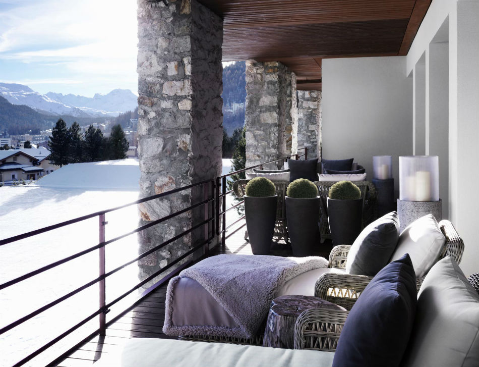 Chalet at Switzerland 4 kelly hoppen Top Interior Designer| Kelly Hoppen Chalet at Switzerland 4