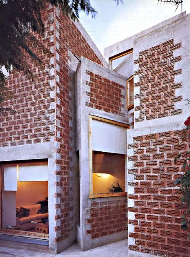 Casa a la Clota, Barcelona  TOP ARCHITECTS | Miralles Tagliabue Enric Miralles Benedetta Tagliabue Casa a La Clota Barcellona Spagna