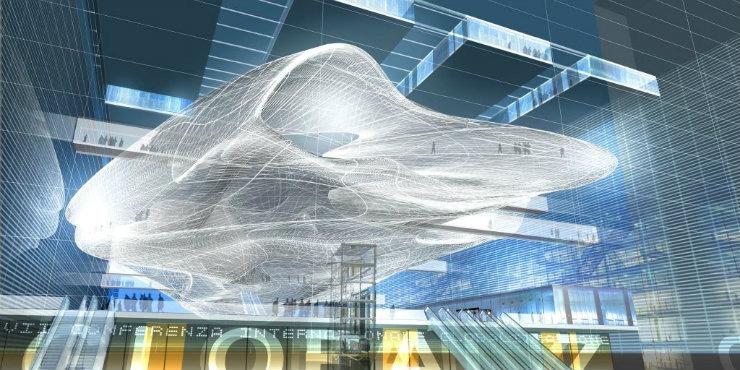 Fuksas-Nuvola-EUR  Top Architect | Massimiliano e Doriana Fuksas Fuksas Nuvola EUR