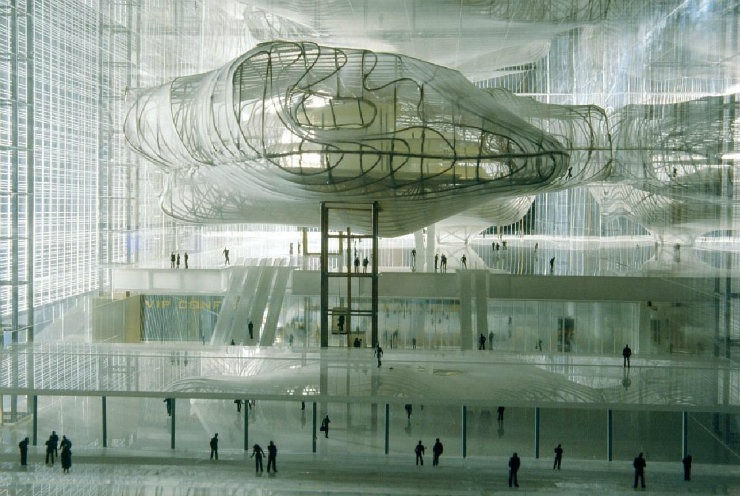 Fuksas-NuvolaEUR-Reale  Top Architect | Massimiliano e Doriana Fuksas Fuksas NuvolaEUR Reale
