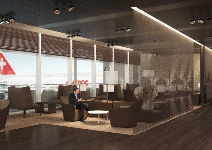 Ideenstudie Airline Lounge1  Top Interior Designers | Nicole Gottschall Ideenstudie Airline Lounge1