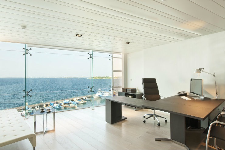Interior-Design-Private-Office-Maldives-1  Design inspirations: Matteo Nunziati Interior Design Private Office Maldives 1