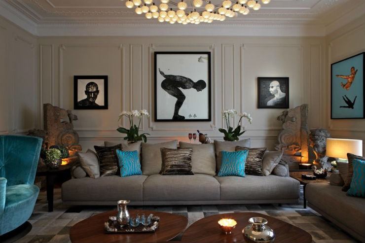 Knightsbridge-House-2 Staffan Tollgard Top Interior Designer | Staffan Tollgard Knightsbridge House 2