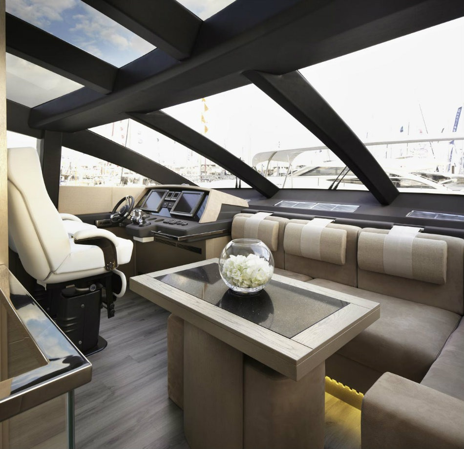 The Most Iconic Projects By Kelly Hoppen Pearl Yacht 75, Luxury Yacht 1