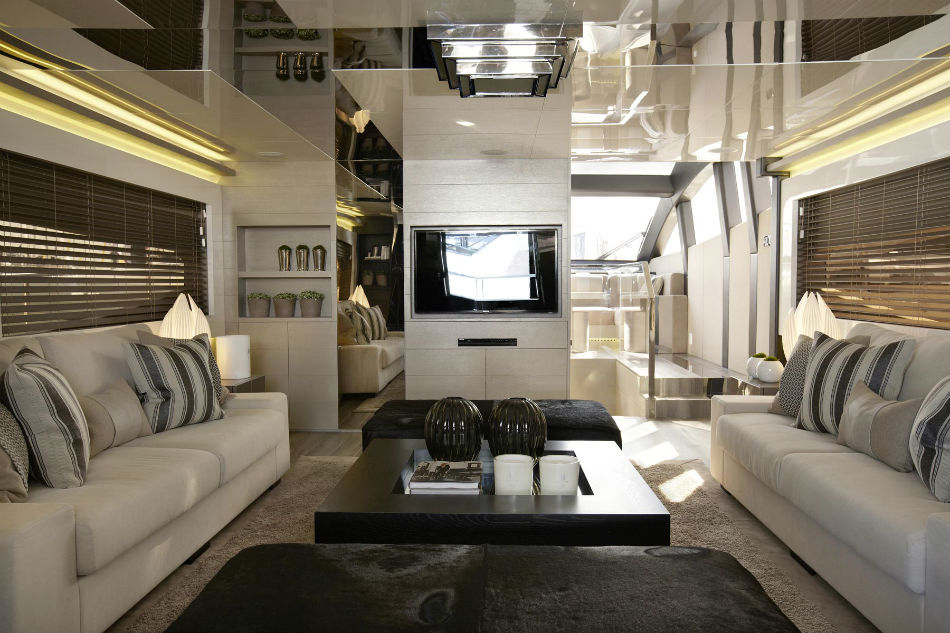 The Most Iconic Projects By Kelly Hoppen Pearl Yacht 75 Luxury Yacht 3
