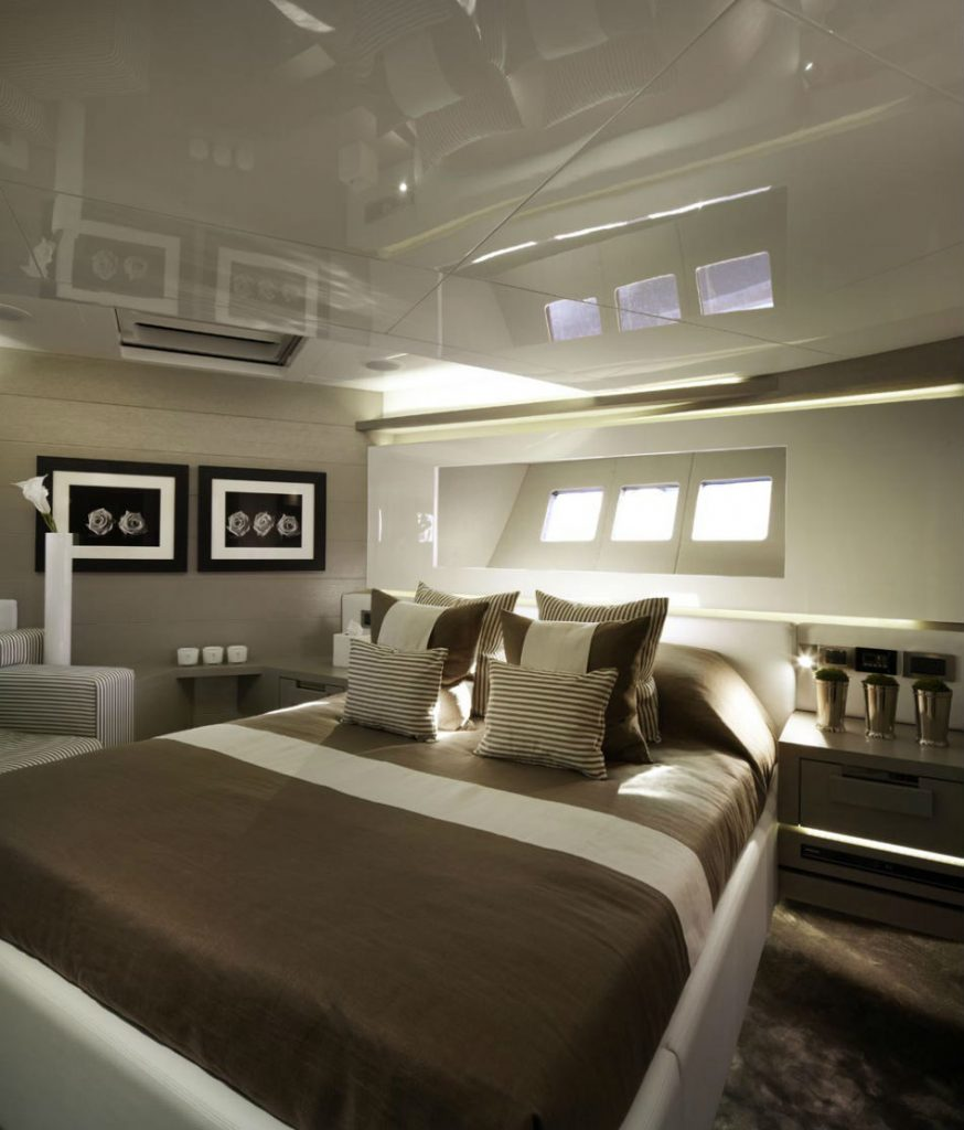 The Most Iconic Projects By Kelly Hoppen Pearl Yacht 75 Luxury Yacht 5