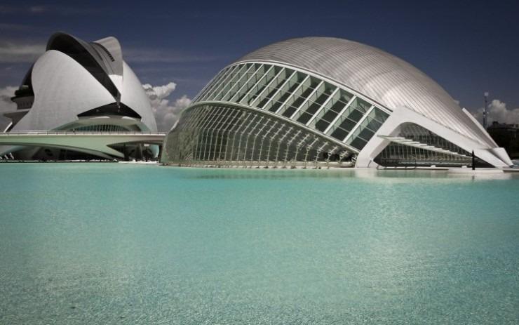 Santiago Calatrava - Ciudad de las Artes y de las Ciencias  Top Architects | Santiago Calatrava Santiago Calatrava Ciudad de las Artes y de las Ciencias e1439370772299