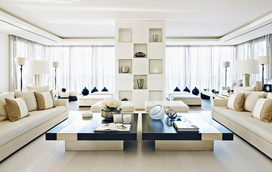 Stunning Apartment Beirut kelly hoppen Top Interior Designer| Kelly Hoppen Stunning Apartment Beirut