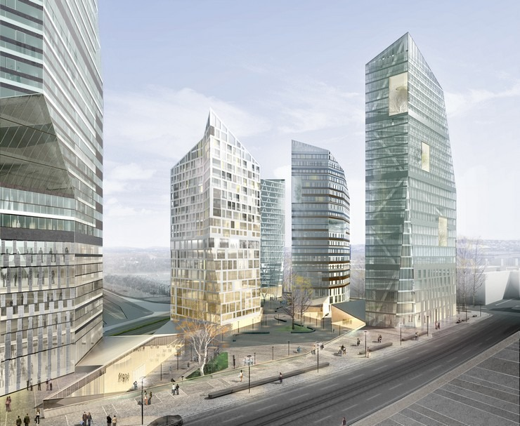 Top Architects  Cino Zucchi-Central Pasila Tower Area, Helsinki- Central Pasila tower Helsinki  Top Architects | Cino Zucchi Top Architects Cino Zucchi Central Pasila Tower Area Helsinki 4