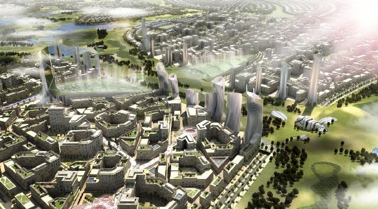 Top Designers Dar Al Riyadh Group and Dar Al-Handasah golf city dubai