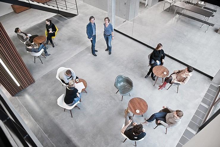 Top Interior Designers Jutta and Dieter Blocher_Blocher Blocher Partners office