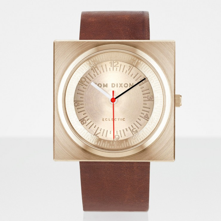 best-interior-designers-tom-dixon-Block Watch Brass Leather Tom Dixon Top Designers | Tom Dixon best interior designers tom dixon Block Watch Brass Leather e1440673085512