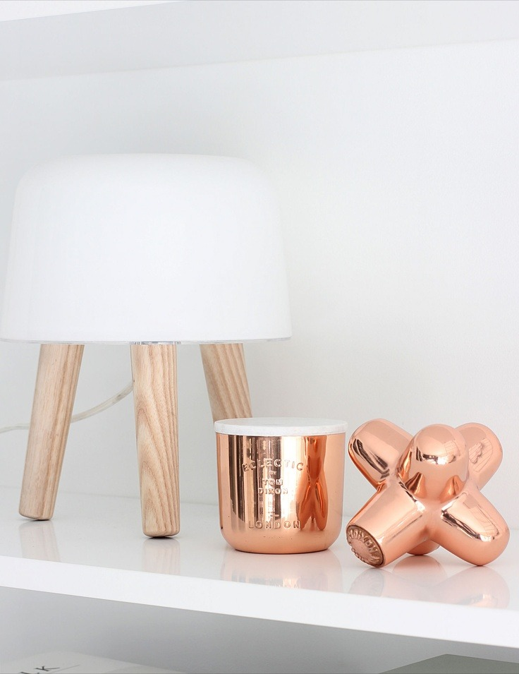 ... Best Interior Designers Tom Dixon Cast Mini Jack Copper 1