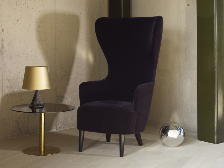 best-interior-designers-tom-dixon-Wingback Chair Black tom dixon Top Designers | Tom Dixon best interior designers tom dixon Wingback Chair Black e1440672007878