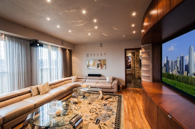 Top Interior Designer | Stephanie Kratz  Top Interior Designer | Stephanie Kratz dallas uptown high rise media room 18