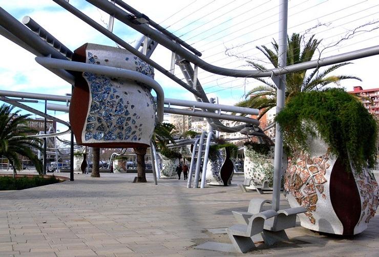 Diagonal Mar Park, Barcelona  TOP ARCHITECTS | Miralles Tagliabue diagonal mar park