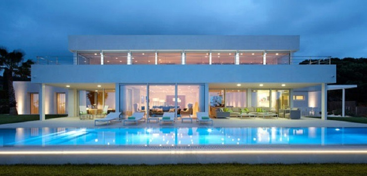 House with pool in Maresme, a new draft Molins Interiors  TOP INTERIOR DESIGNERS | MOLINS INTERIORS most