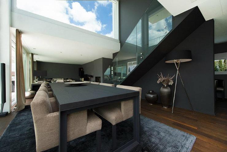 penthaus sky blue 2  Top Interior Designers | Barbara Pfeffer-Martinuzzi penthaus sky blue 2