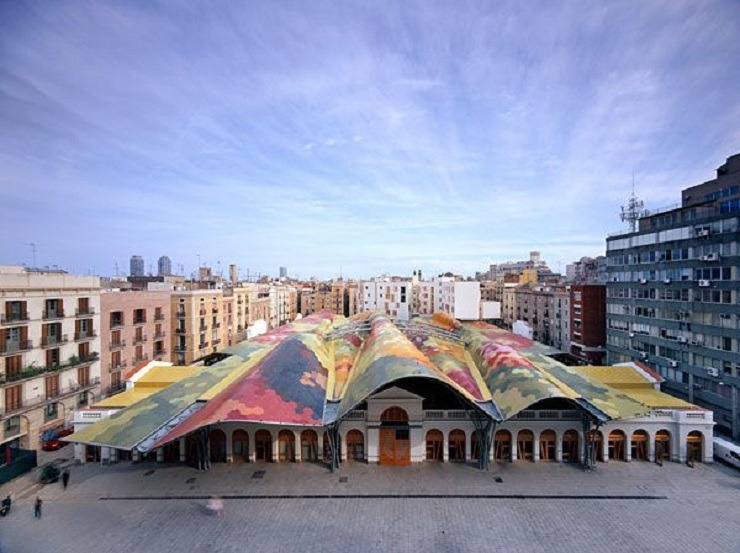 TOP ARCHITECTS | Miralles Tagliabue  TOP ARCHITECTS | Miralles Tagliabue santa caterina market