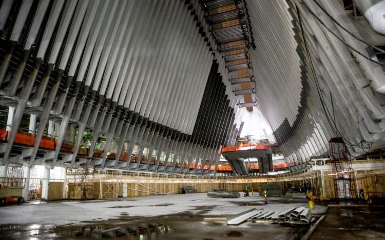 santiago-calatrava-wtc transportation hub new york-10  Top Architects | Santiago Calatrava santiago calatrava wtc transportation hub new york 10 e1439367693159
