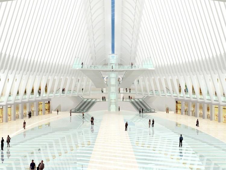 santiago-calatrava-wtc transportation hub new york-11  Top Architects | Santiago Calatrava santiago calatrava wtc transportation hub new york 11 e1439367719947
