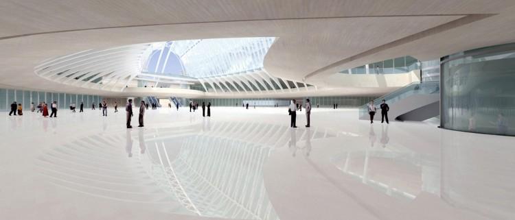 santiago-calatrava-wtc transportation hub new york-16  Top Architects | Santiago Calatrava santiago calatrava wtc transportation hub new york 16 e1439367777233