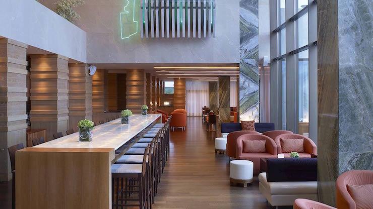 westin, athens  Top Interior Designers   Hirsch Bedner Associates California westin athens
