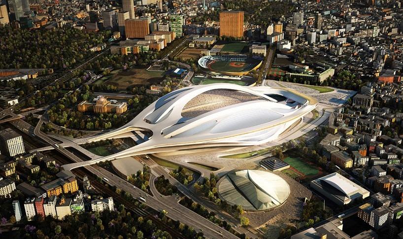 th_65d130bestinteriordesigners-Top Interior Designers | Zaha Hadid - tokyo design  Design Inspirations: Zaha Hadid zaha hadid national olympic stadium tokyo 2020 design scrapped designboom 02 818x485