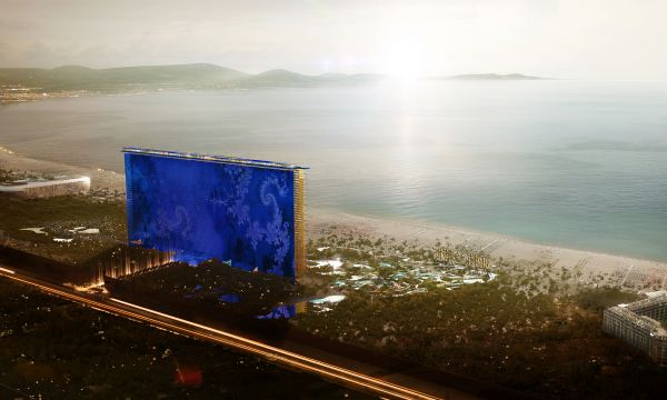 Top architects| Jean Nouvel  Top architects| Jean Nouvel 9 AJN Hainan Atlantis ext VueAerienne 600 360 80