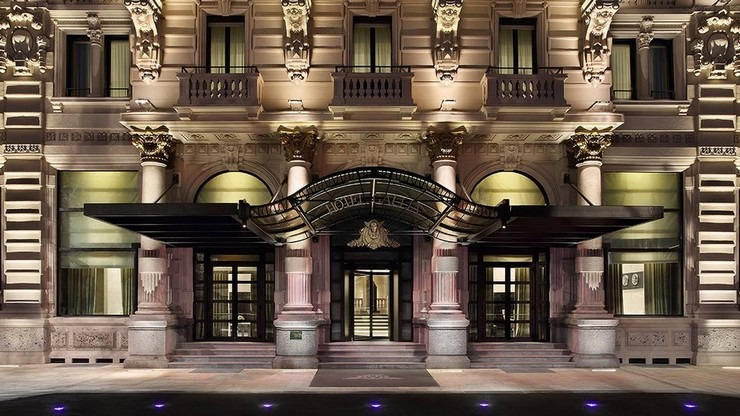 Top Interior Designers Marco Piva - Milan City Guide Inside Milan's reopened Excelsior Hotel Galia-Foyer-Galleria_Gallia marco piva Get to Know the Irreverence of Milanese Architect Marco Piva Milan City Guide Inside Milans reopened Excelsior Hotel Galia Gallia Front Entrance