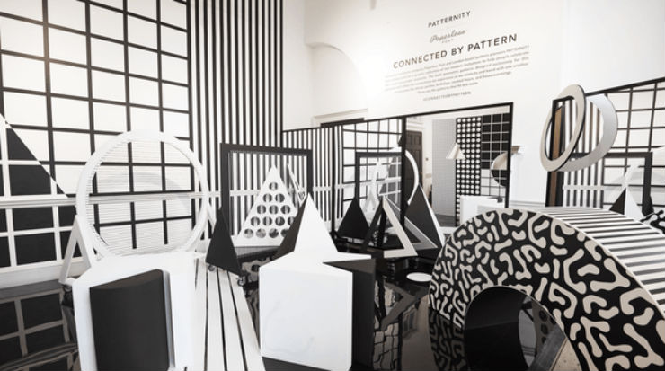 patternity  'Ten Designers in the West Wing' at London Design Festival patternity