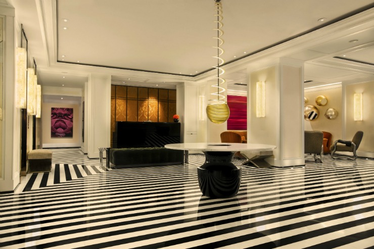 top-interiro-designers-jacques-grange-project-the-mark-hotel-lobby-2 Chateaus and Hotels by the interior designer Jacques Grange Chateaus and Hotels by the interior designer Jacques Grange top interiro designers jacques grange project the mark hotel lobby 2