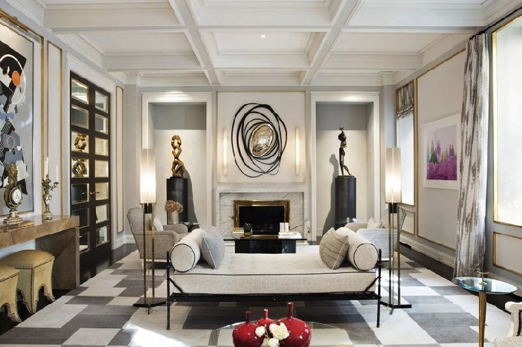 25 best interior design projects by jean louis deniot for Sophisticated living room designs