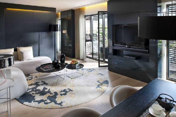 Urquiola Living area at Mandarin Oriental Barcelona patricia urquiola 50 Best Interior Design Projects by Patricia Urquiola 13 Patricia Urquiola Living area at Mandarin Oriental Barcelona
