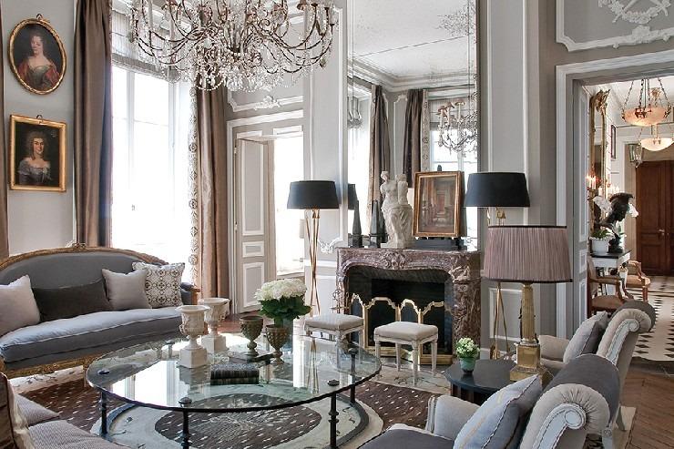 captivating jl deniot paris living room apartm | 25 Best Interior Design Projects by Jean-Louis Deniot ...
