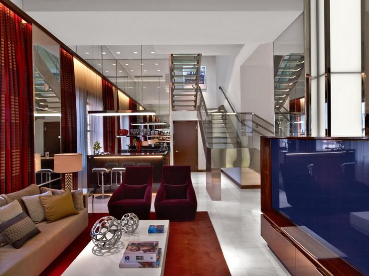 16 tihany design joule hotel dallas penthouse suites 16 for Design hotel jewel
