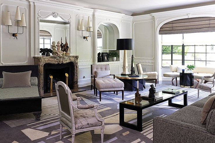 J.L. Deniot traditional living room jean-louis deniot 25 Best Interior Design Projects by Jean-Louis Deniot 2 Jean Louis Deniot traditional living room