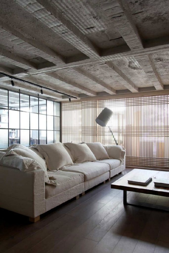 Urquiola Faliro Loft living room patricia urquiola 50 Best Interior Design Projects by Patricia Urquiola 38 Patricia Urquiola Faliro Loft living room