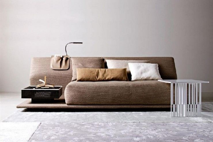 Urquiola Contemporary Comfortable Sofa Bed for Molteni patricia urquiola 50 Best Interior Design Projects by Patricia Urquiola 43 Patricia Urquiola Contemporary Comfortable Sofa Bed for Molteni