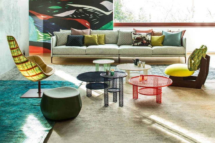 Urquiola Patrizia Moroso's House living room patricia urquiola 50 Best Interior Design Projects by Patricia Urquiola 6 Patricia Urquiola Patrizia Morosos House living room