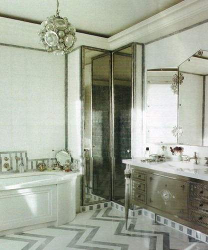 50 Best Interior Design Projects by Jacques Grange jacques grange 50 Best Interior Design Projects by Jacques Grange Best Interior Designers Jacques Grange Interior Design Luxury Interiors An Art Deco Bathroom